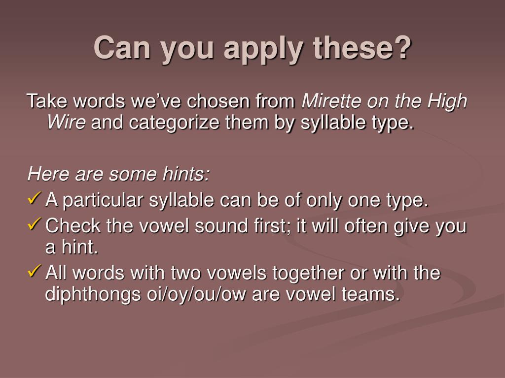Can you apply these?