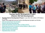 tourism sector development project historic old salt development