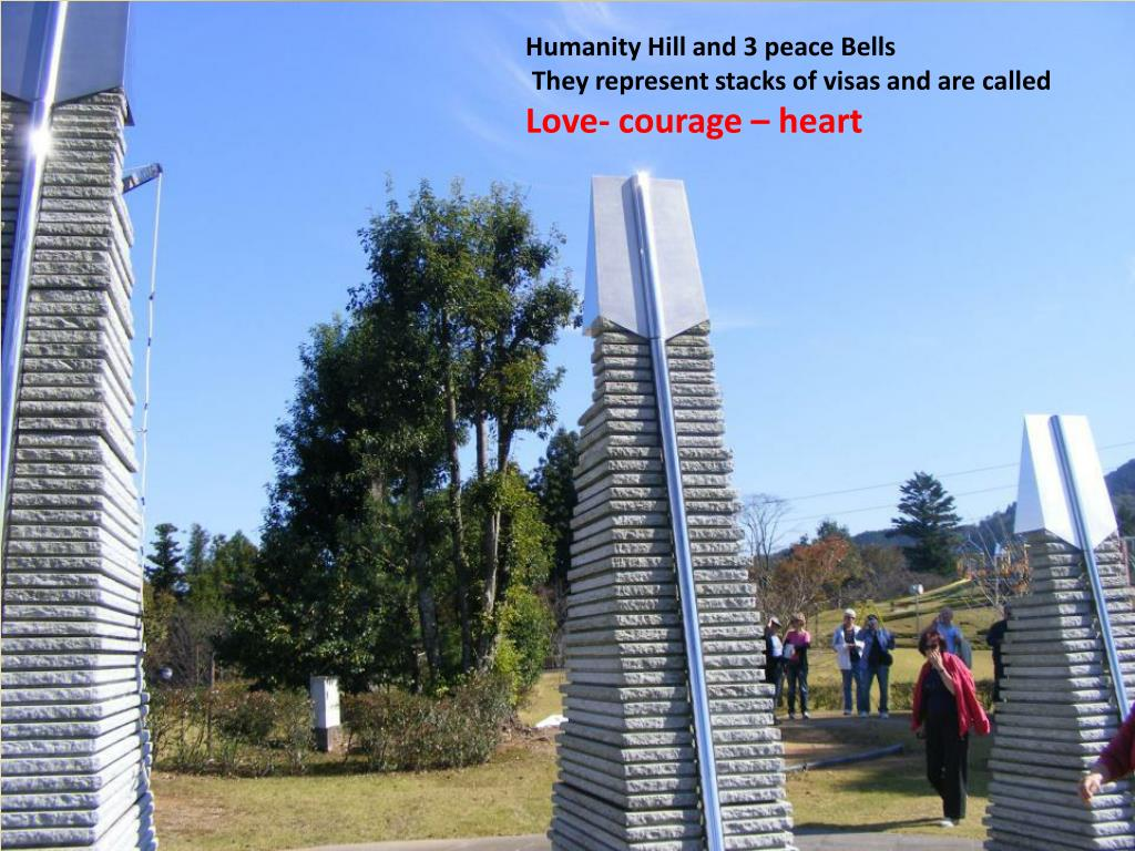 Humanity Hill and 3 peace Bells