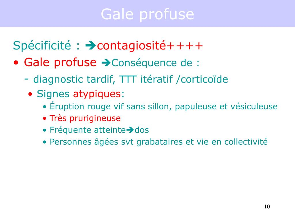 Gale profuse