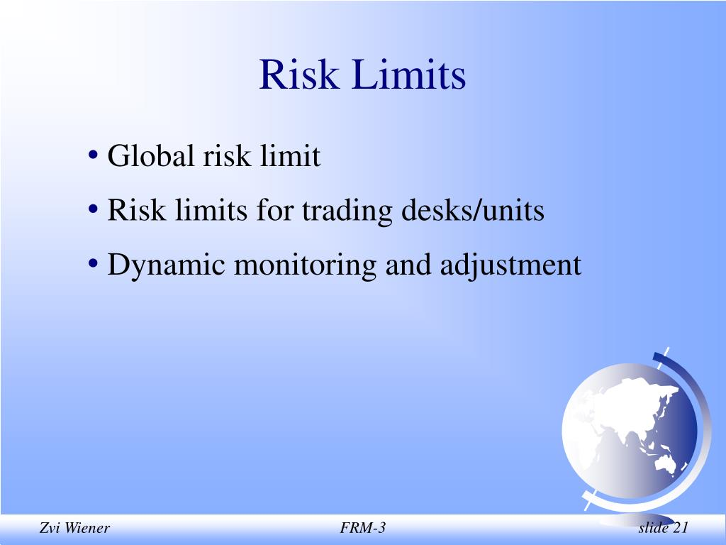 Risk Limits