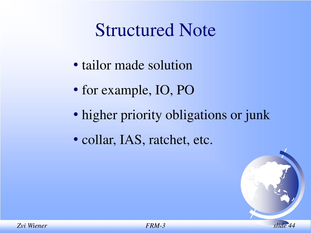 Structured Note