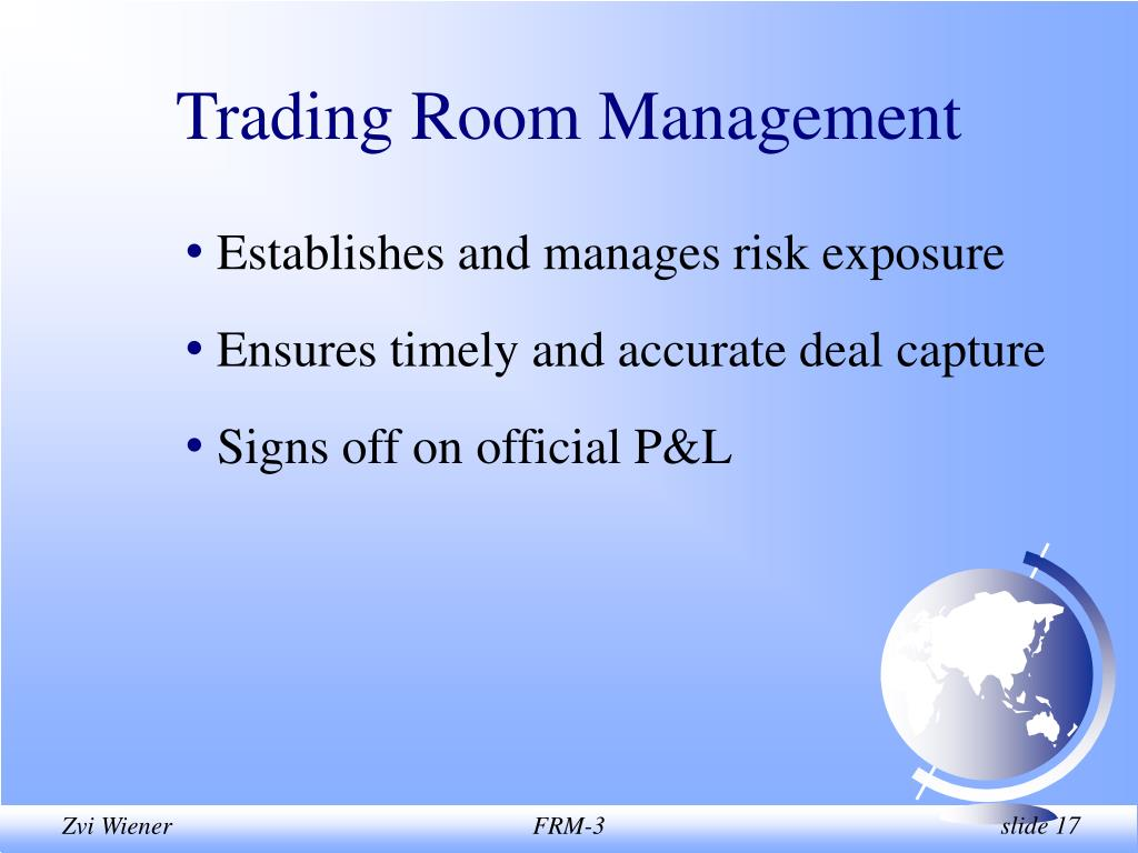 Trading Room Management