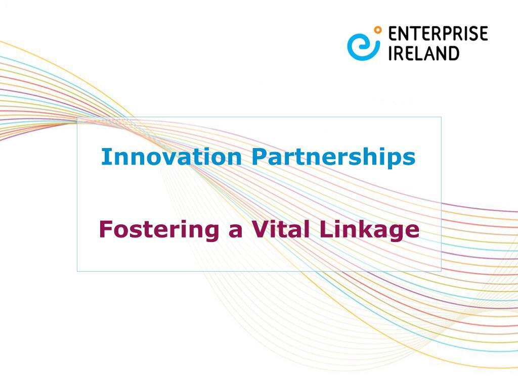 innovation partnerships