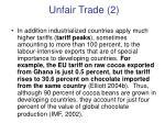 unfair trade 2