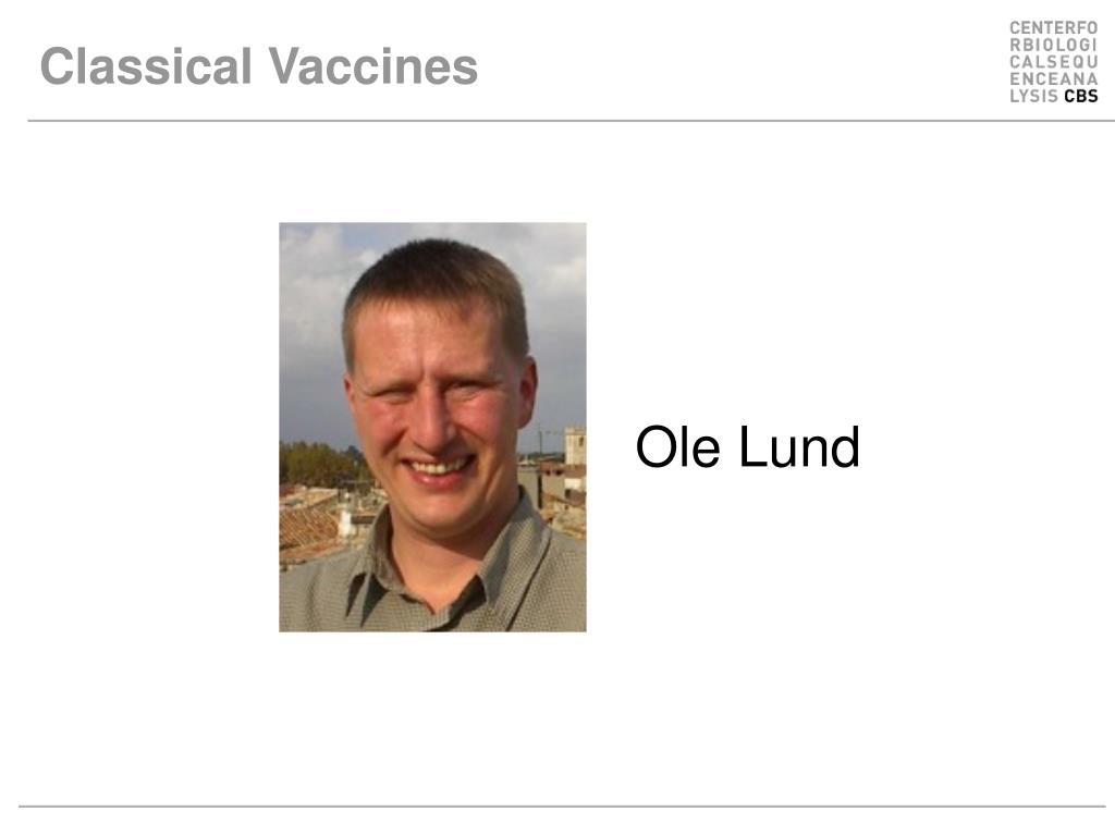 classical vaccines l.
