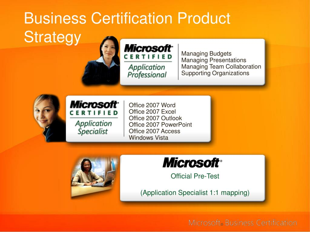 Business Certification Product Strategy