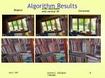 algorithm results16