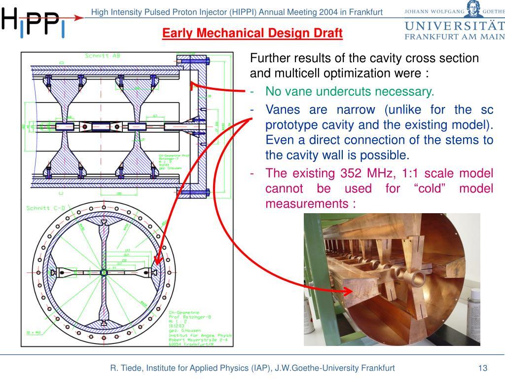 Early Mechanical Design Draft
