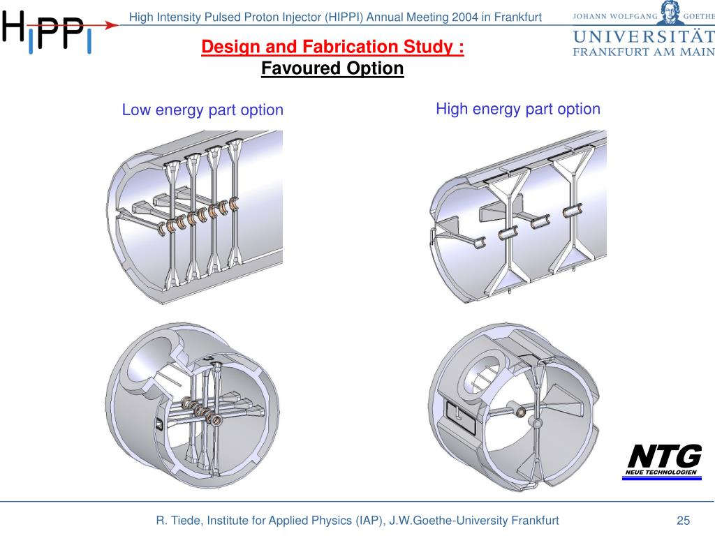 Design and Fabrication Study :