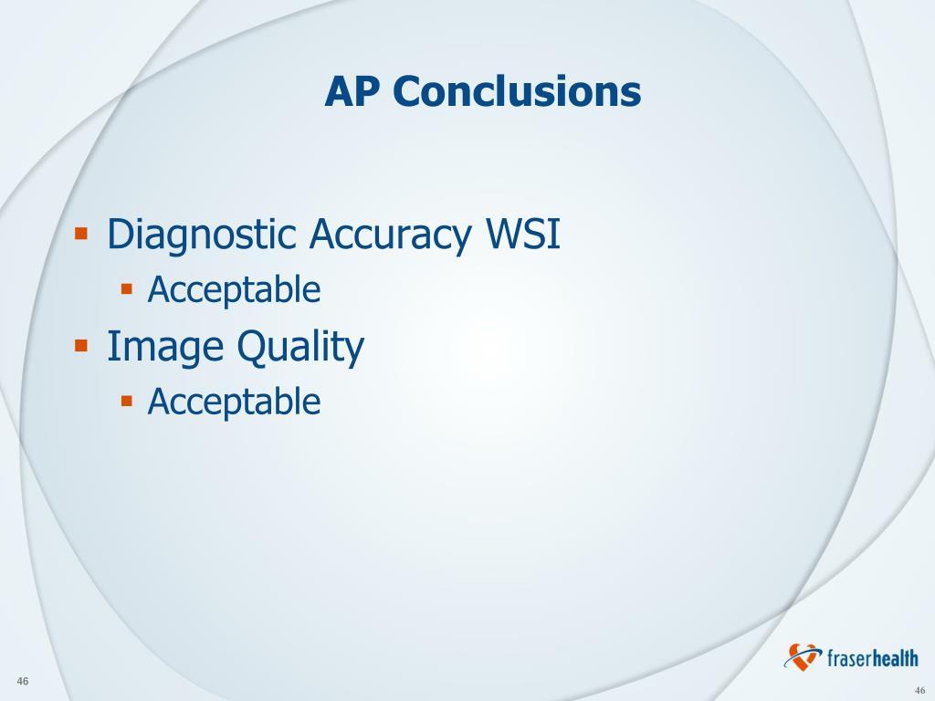 AP Conclusions