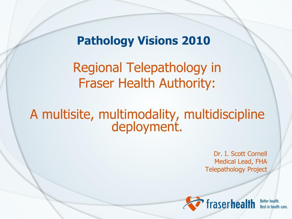 Pathology Visions 2010