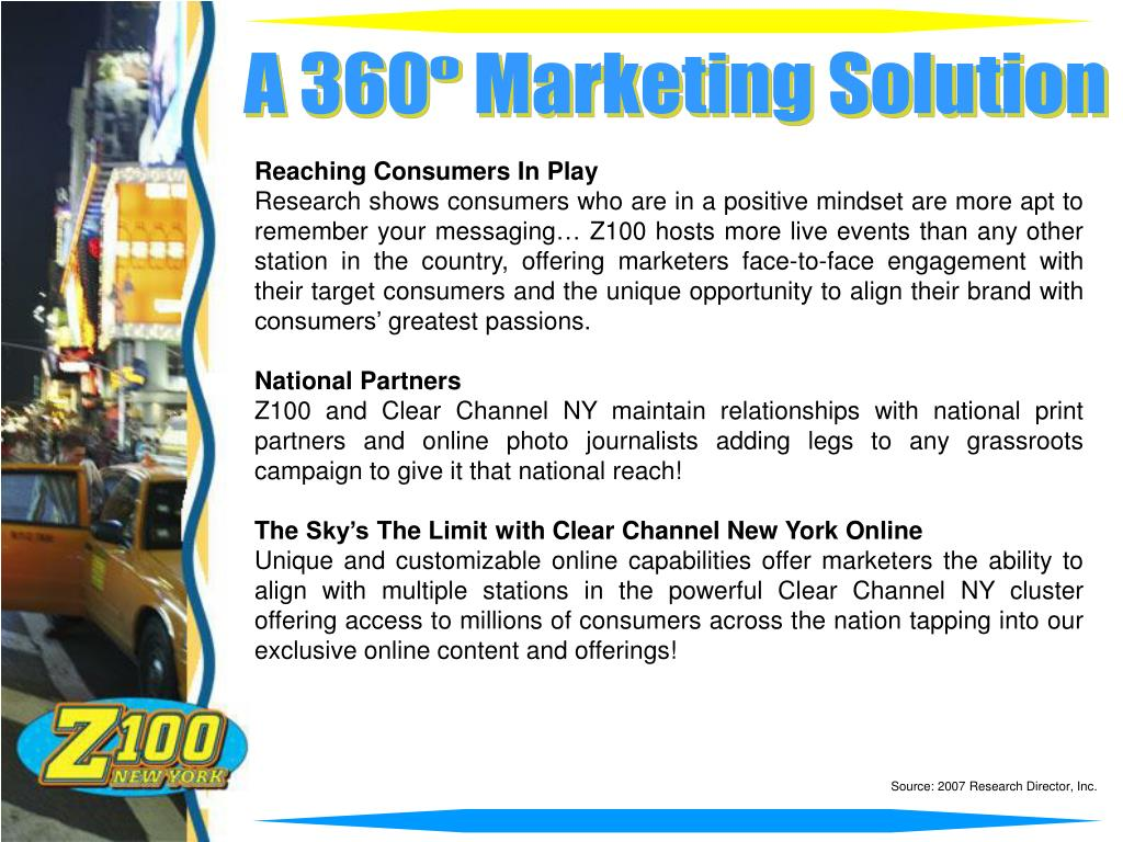 A 360   Marketing Solution