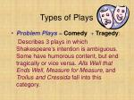 types of plays2