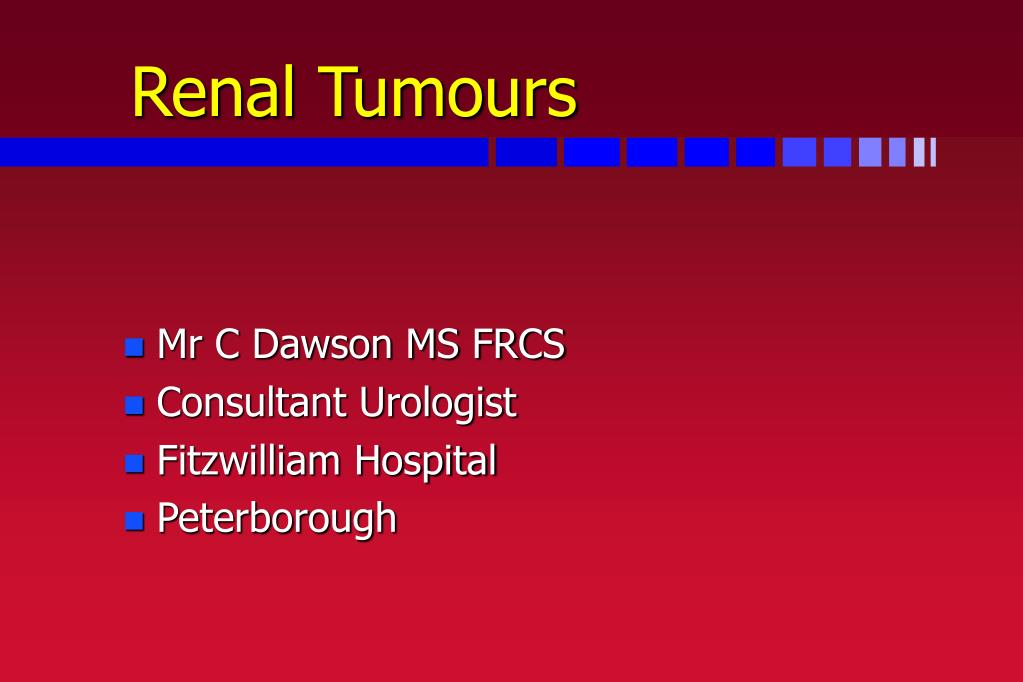 renal tumours l.