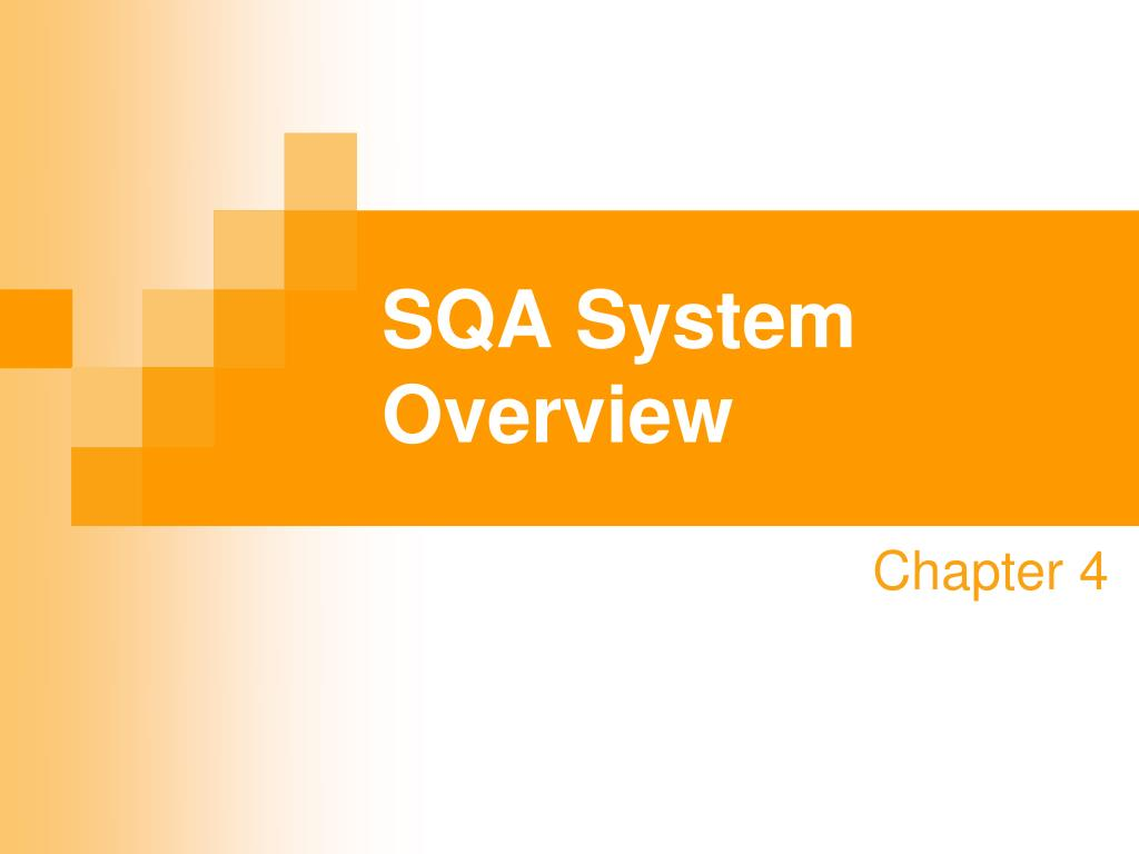 sqa system overview