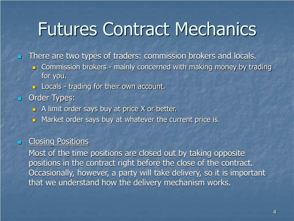 Futures Contract Mechanics