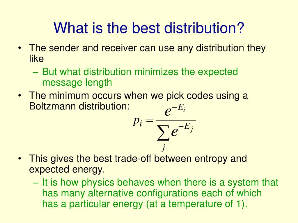 What is the best distribution?