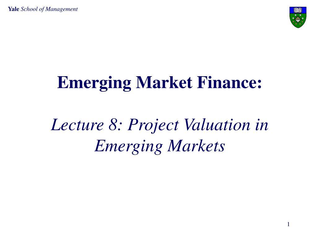 Emerging Market Finance: