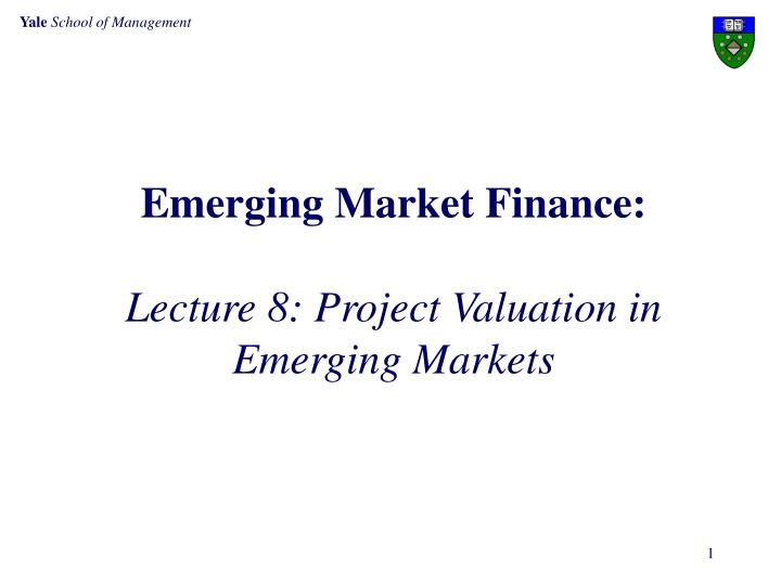 evaluation in emerging market Emerging markets are vulnerable to corruption understanding the rules and behavior you see in some emerging markets can help you make investment decisions corruption is more common in emerging markets where established institutions may not work well but bribes, kickbacks, and campaign contributions may be the cost of doing business in any.