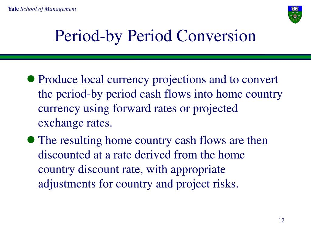 Period-by Period Conversion