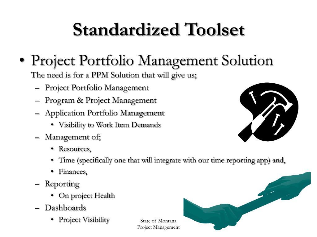 Standardized Toolset