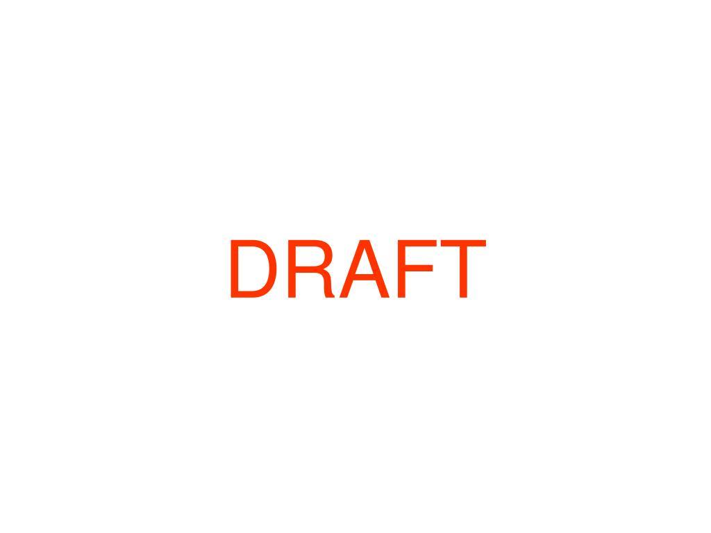 draft l.