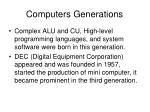 computers generations20