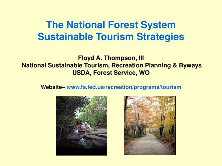 The National Forest System