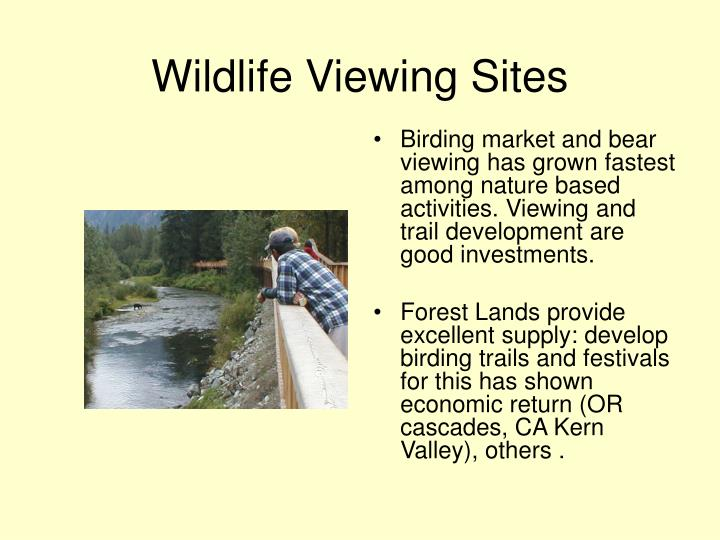 Wildlife Viewing Sites
