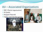iju associated organizations