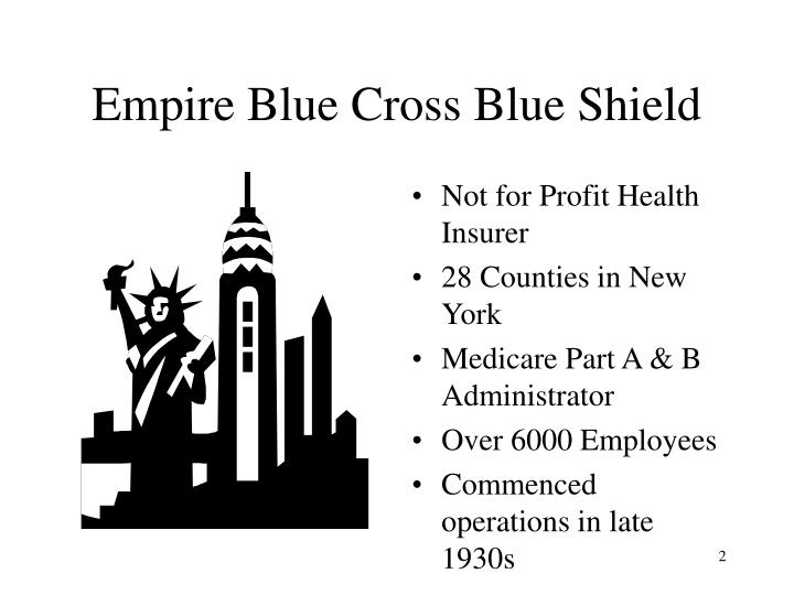 Empire blue cross blue shield