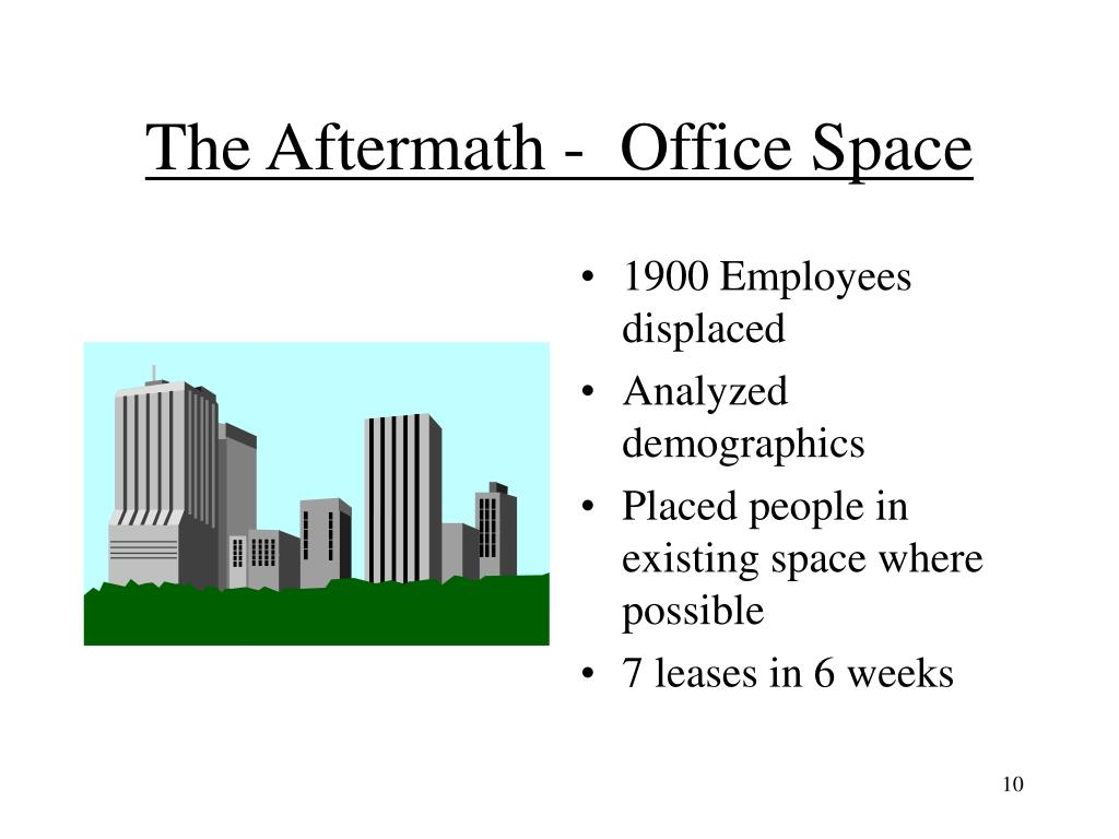 The Aftermath -  Office Space