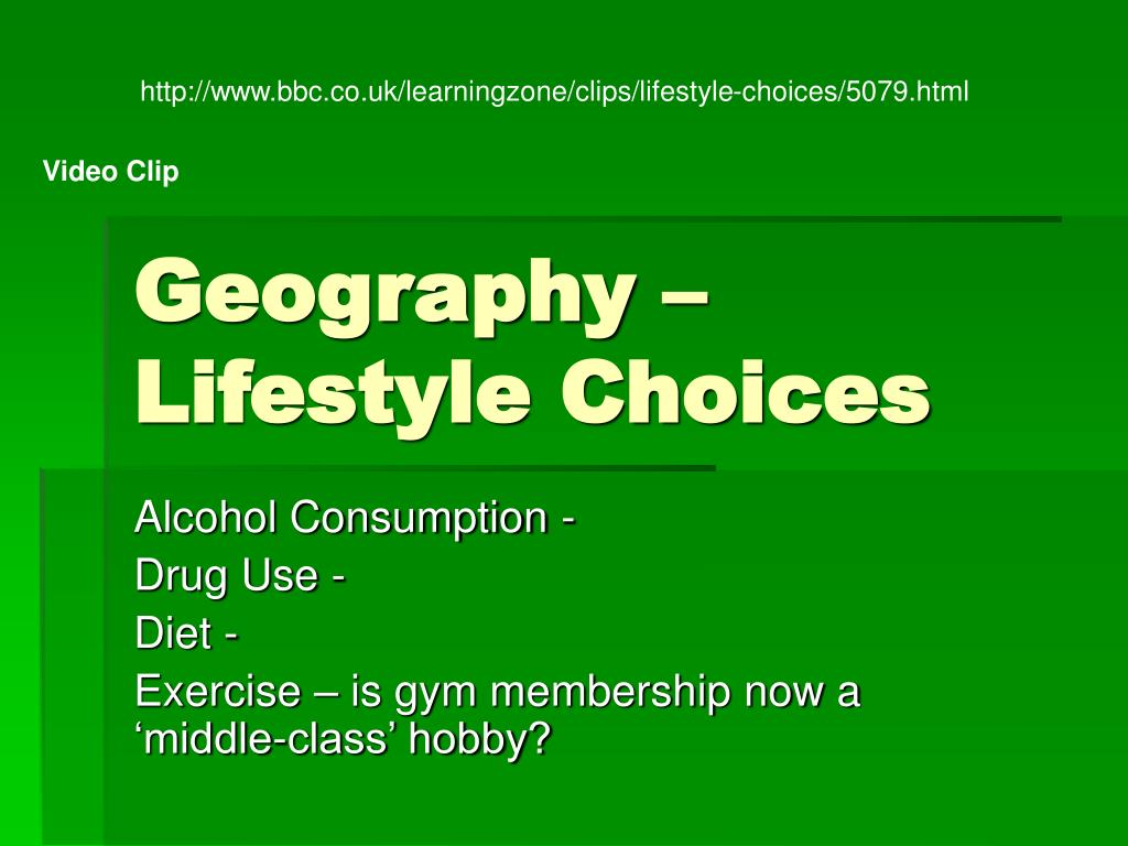 http://www.bbc.co.uk/learningzone/clips/lifestyle-choices/5079.html