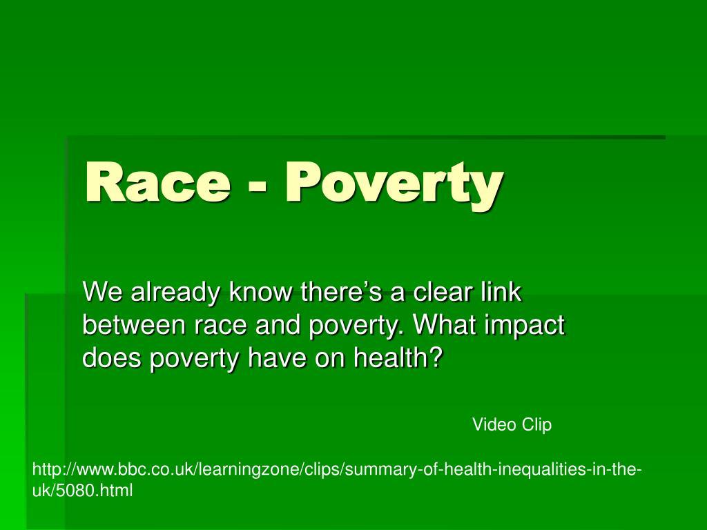 Race - Poverty