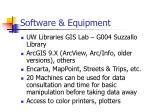 software equipment