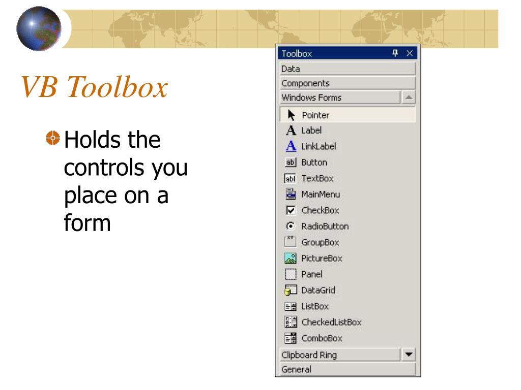 VB Toolbox