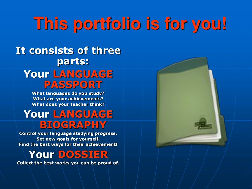 This portfolio is for you!