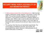 securitywise irreplaceability of j s mountain ridges2