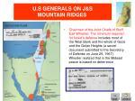 u s generals on j s mountain ridges2