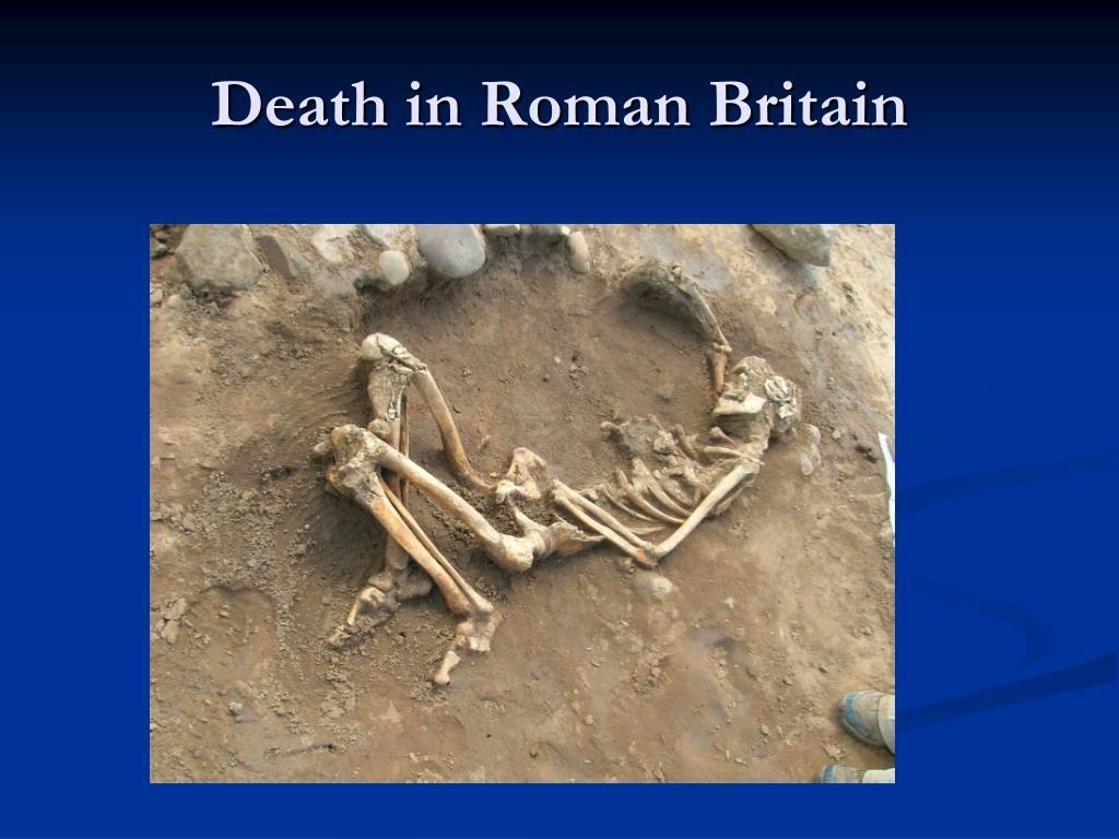 Death in Roman Britain