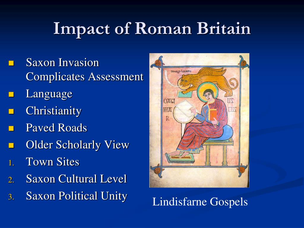 Saxon Invasion Complicates Assessment