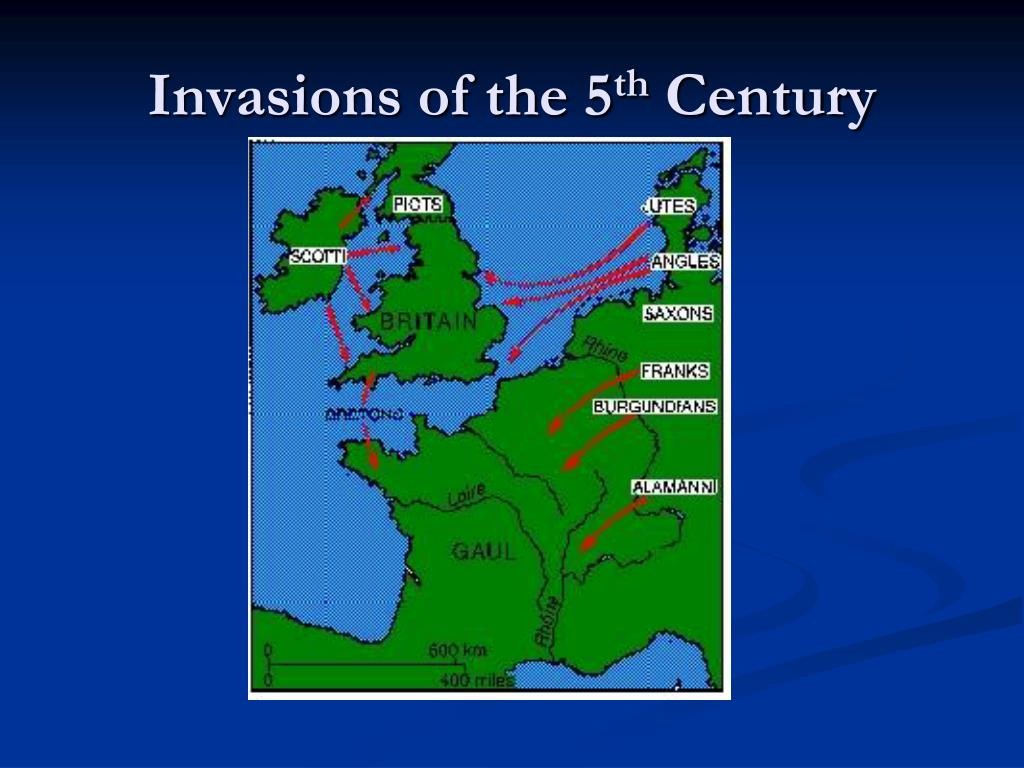 Invasions of the 5