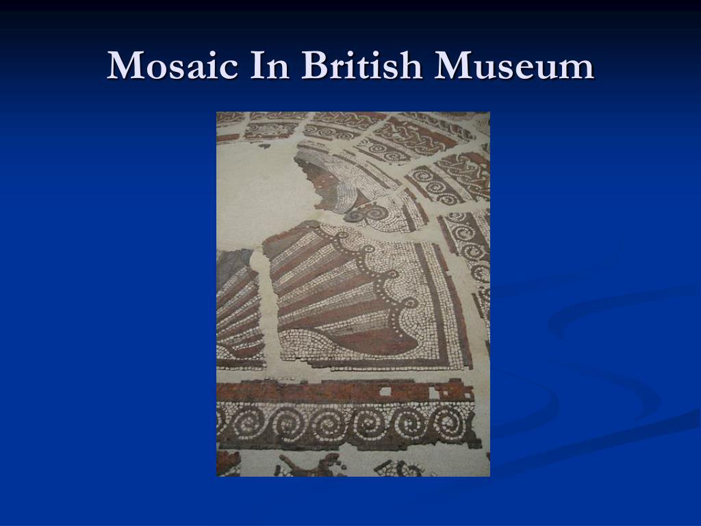 Mosaic In British Museum