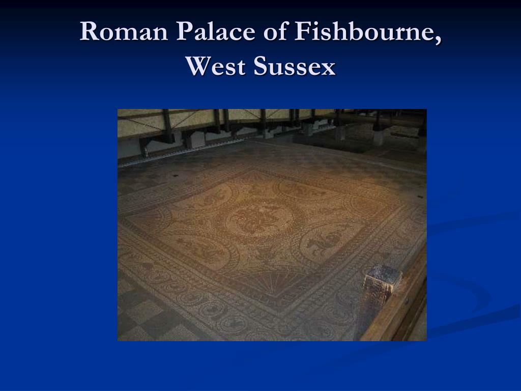 Roman Palace of Fishbourne,