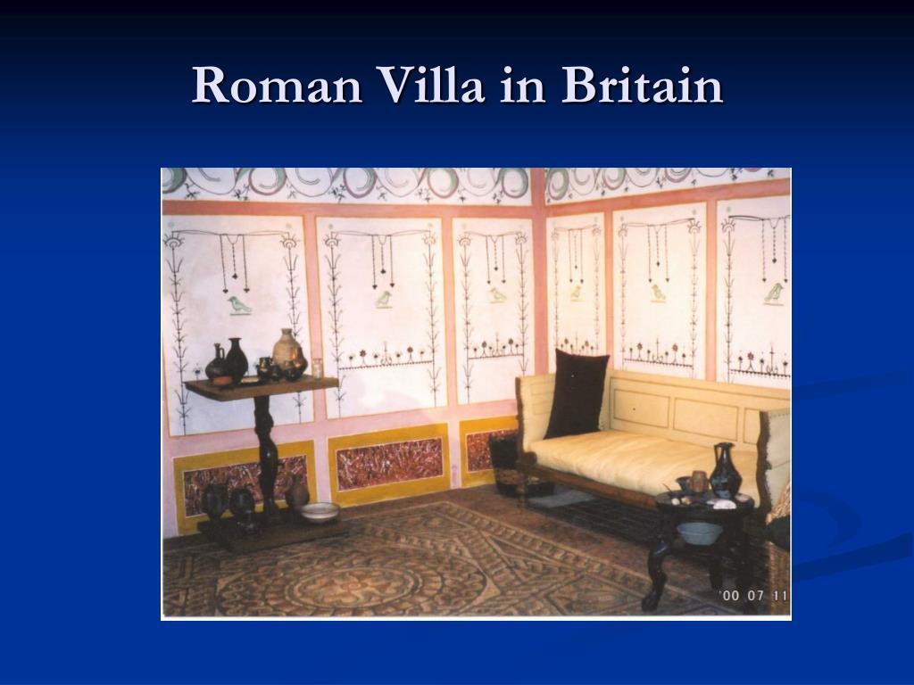 Roman Villa in Britain