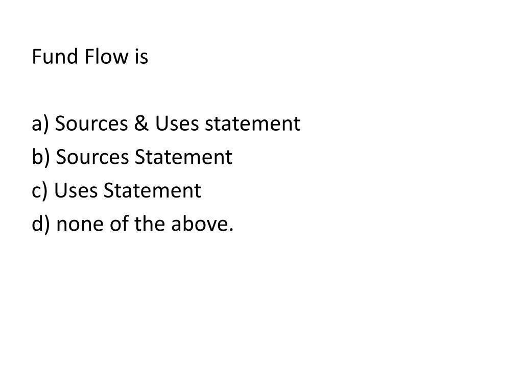 Fund Flow is