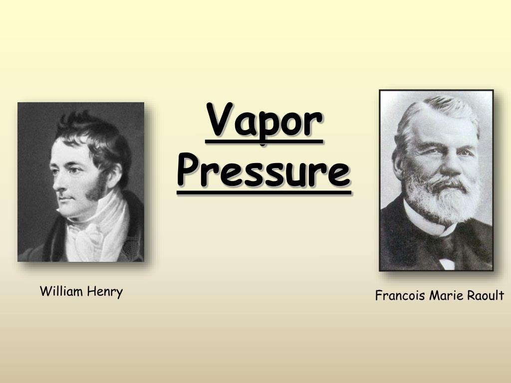 vapor pressure l.