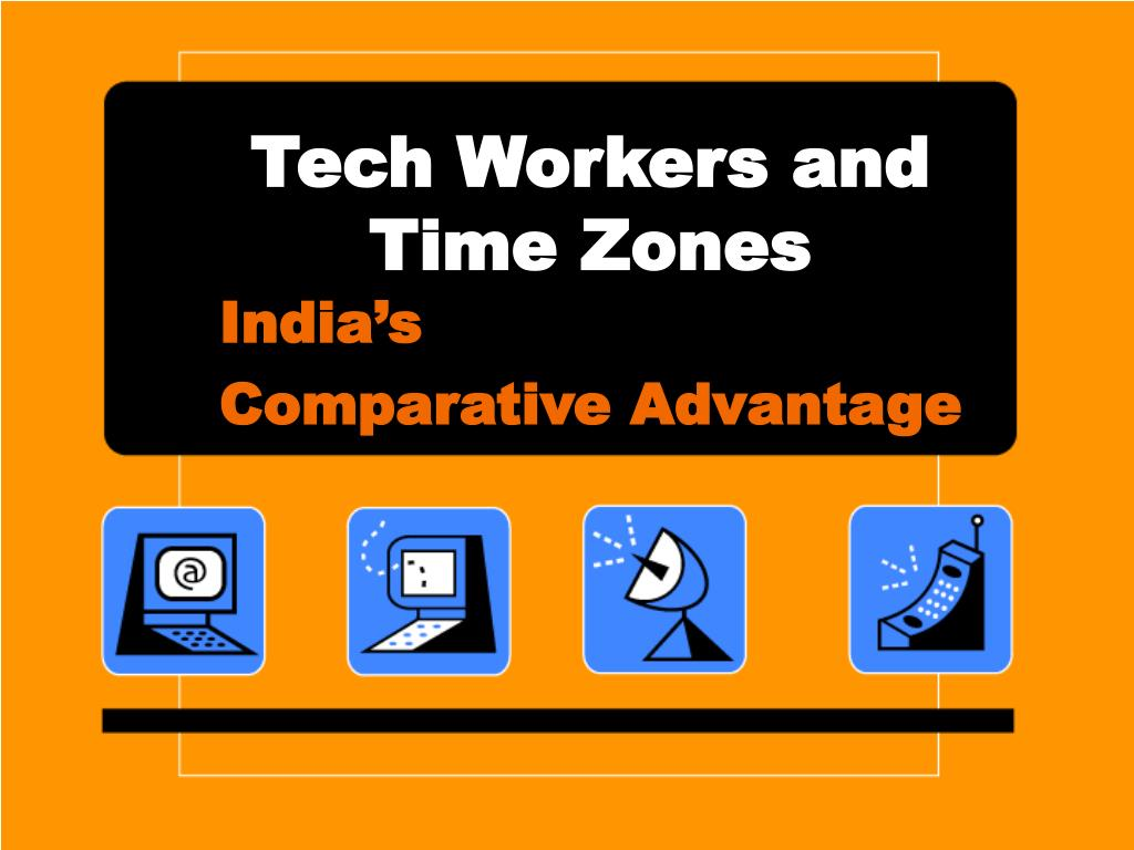 tech workers and time zones l.