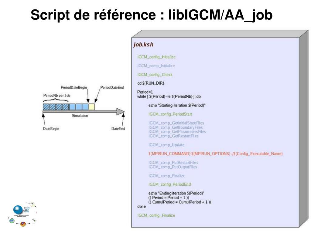 Script de référence : libIGCM/AA_job